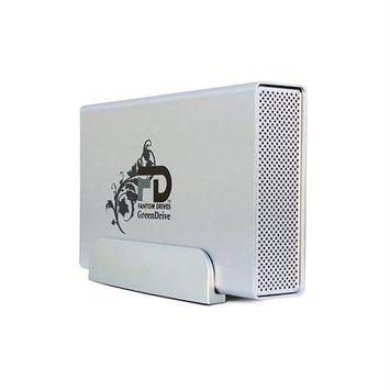 Micronet Technology Fantom Drives 2TB External Hard Drive - Esata, Firewire/i.link 800, Firewire/i.link 400, USB 3.0 - Retail (gd2000qu3)