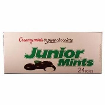 Product Of Junior Mints, Creamy Mints In Chocolate, Count 24 (1.84 oz) - Chocolate Candy / Grab Varieties & Flavors