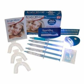 Professional At Home Teeth Whitening System by Sparkling White Smiles   Whitens & Brightens Up To 6 Shades in 2 Days   Safe, Mess-Free, Easy to Use, Gentle & Effective Results