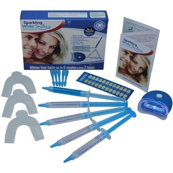 Teeth Whitening Kit - Premium Teeth Whitening System - Fast Results - Professional Grade - Whiter and Brighter Teeth - Easy to Use At Home - All Inclusive Complete Teeth Whitening Package