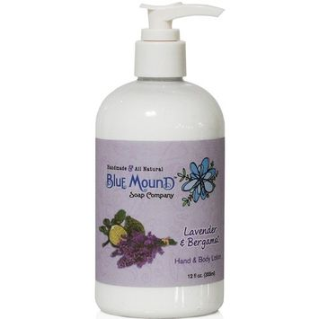 Blue Mound Lavender and Bergamot Hand and Body Lotion