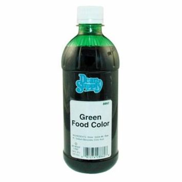 Baron Green Food Coloring 16 Oz Bottle