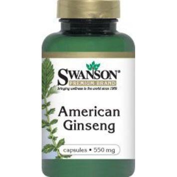 Swanson Premium Brand American Ginseng 550 mg 100 Caps