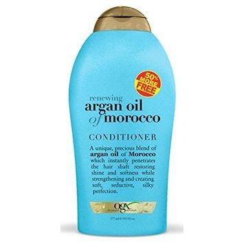 Organix Renewing Moroccan Argan Oil Conditioner 50% Free 19.5 oz.