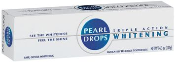 Pearl Drops Triple Action Whitening Toothpaste