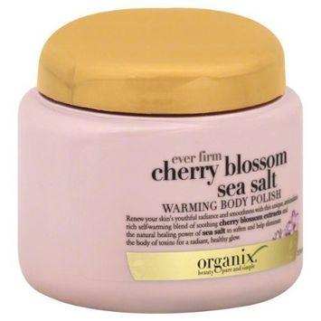 OGX® Ever Firm Warming Body Polish, Cherry Blossom Sea Salt