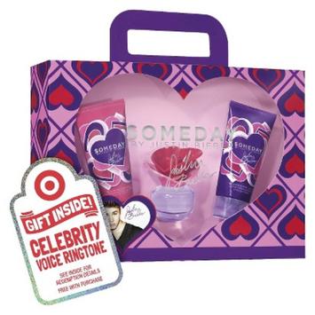 Women's Justin Bieber Someday Eau de Parfume 3 Piece Gift Set Plus