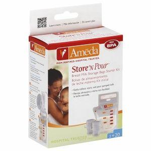 Ameda Store 'N Pour™ Milk Storage Kit