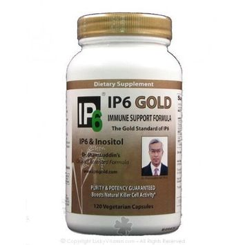 Ip6 International IP-6 Gold, Immune Support Formula, 120 Veggie Caps