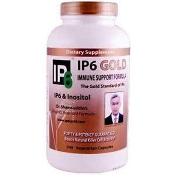 Ip6 International IP6 Gold Immune Support Formula by IP6 - 240 Vegetarian Capsules