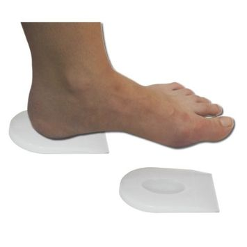 AT Surgical Fresco Pure Gel Self Adhesive Comfort Spur Heel Cups, L []