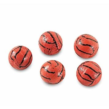 Basketballs Solid Milk Chocolate Balls (1 Lb - 83 Pcs)