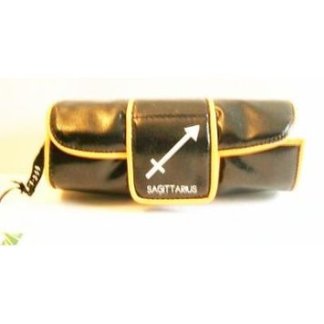 Inspiration Star Sign Black Accessory Cosmetic Case - Sagittarius