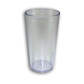 16 Oz. Stackable Tumbler Set of 6 Finish: Clear