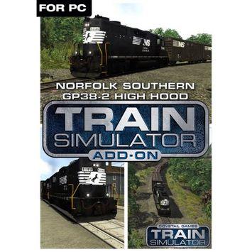 Dovetail Games Train Simulator Add-On - Norfolk Southern GP38-2 High Hood (PC)(Digital Download)