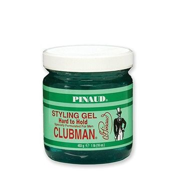 Clubman Pinaud Hard to Hold Styling Gel, 16 oz