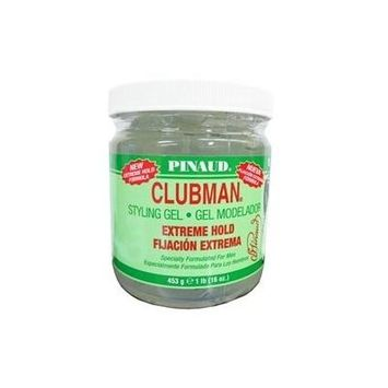 Clubman Pinaud Styling Hair Gel (Extreme Hold) 16 Oz