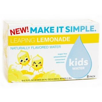 KidsWATER Leaping Lemonade - 8pk/6.75 fl oz Boxes