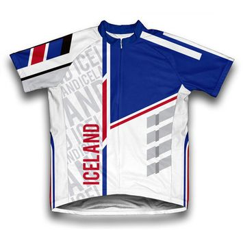 Iceland ScudoPro Short Sleeve Cycling Jersey for Women - Size S