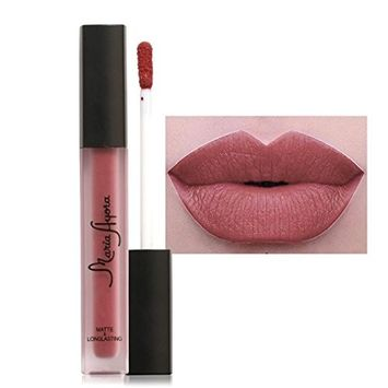 Hunputa New Fashion Liquid Lipstick Moisturizing Long Lasting Cosmetics Women Sexy Lips Matte Lip Gloss Party