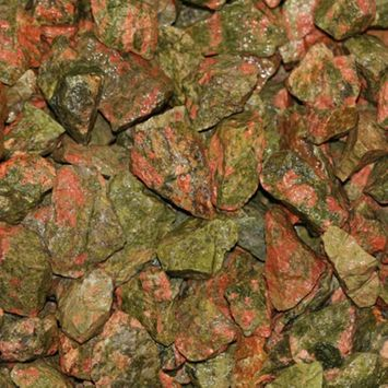 Kingsley North South Africa Tumbled Unakite - 8 oz.