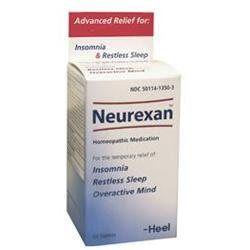 Heel Neurexan Sleep Aid and Calming Tablets - 100 Tablets