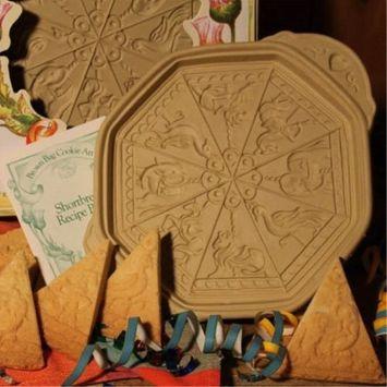 Brown Bag Cookie Art Carousel Shortbread Cookie Pan