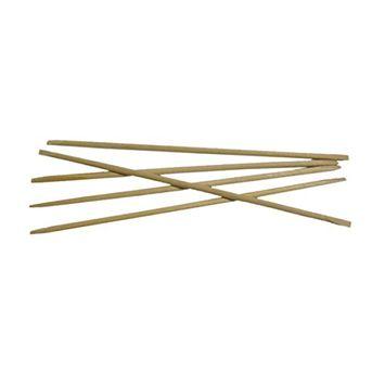 Flowery Birchwood Manicure Sticks