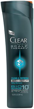 Clear Mean Scalp Therapy Clean & Refresh Anti-Dandruff Daily Shampoo