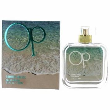 OP Summer Breeze Perfume by Ocean Pacific, 3.4 oz EDP Spray for Women