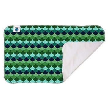 Planet Wise Waterproof Changing Pad, Loch Ness, Made in The USA