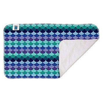 Planet Wise Waterproof Changing Pad, Mermaid Tail, Made in The USA