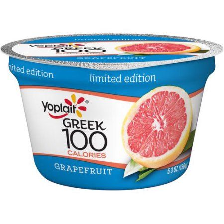 Yoplait® Greek 100 Calories Grapefruit Fat Free Yogurt