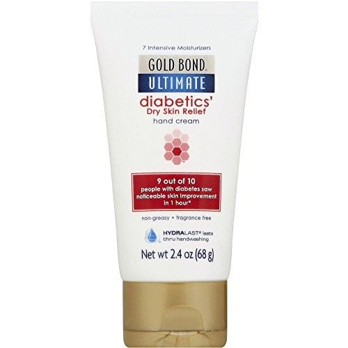 4 Pack Gold Bond Ultimate Diabetics's Dry Skin Relief Hand Cream 2.4 Oz Each