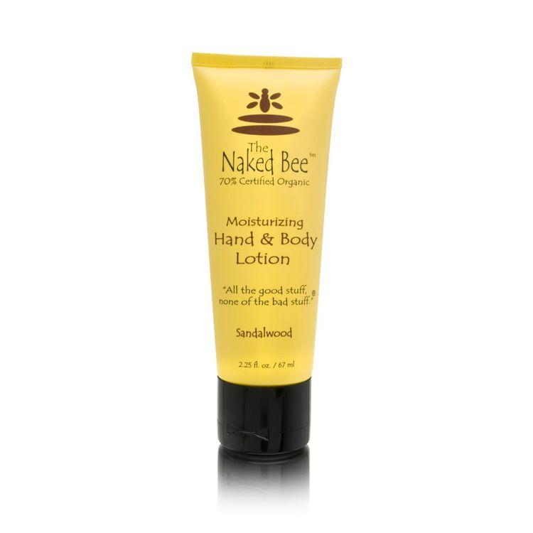 Amazon.com : Naked Bee Sandalwood Lotion in 8 oz Bottle