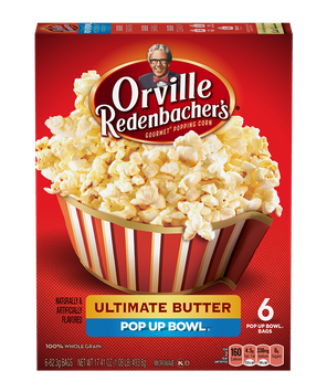 Orville Redenbacher's Ultimate Butter Microwave Popcorn