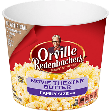 Orville Redenbacher's Gourmet Microwavable Popcorn Movie Theater Butter