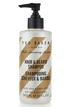Ted Baker London Ted's Grooming Room Hair & Beard Shampoo, Size One Size