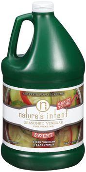 Nature's Intent® Sweet Seasoned Vinegar for Pickling