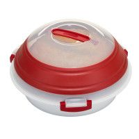 Progressive Collapsible Pie or Party Carrier - red