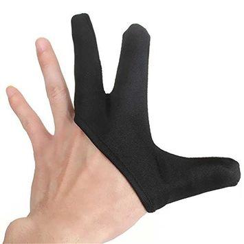 Ownsig 2 pcs Best Heat Resistant Protective Finger Glove Hair Straightener Curling Hairdressing