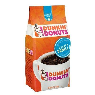 Dunkin' Donuts French Vanilla Flavored Medium Roast Ground ...