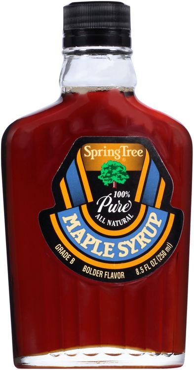 Spring Tree® 100% Pure Grade B Maple Syrup