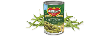 Del Monte® Pickled Green Beans with Dill Flavor