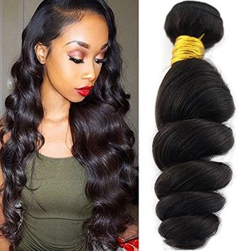Baofu Hair Brazilian Loose Wave Extension 100% Human Hair Weave Bundles 100g/Pcs (8