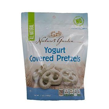 Nature's Garden Yogurt Covered Pretzels, 7 Oz Bag