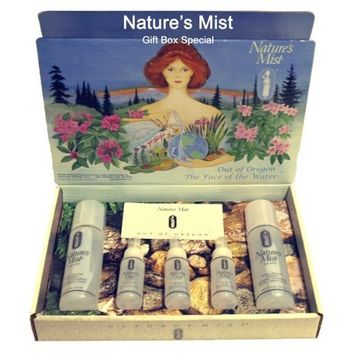 Natures Mist- Face Moisturizer and Cosmetic Enhancement- Gift Set