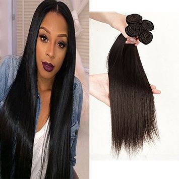 6A Remy Brazilian Virgin Human Hair Extension 8~30 inches, Mixed Length, 50g/Bundle, Natural Color Weft (8