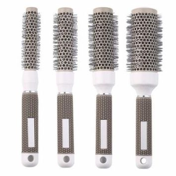 1pc 45mm Round Comb Hair Dressing Curly Comb Round Hair Brush Salon Styling