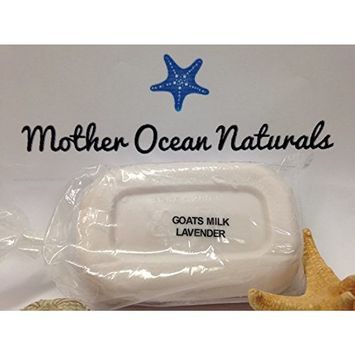 Goat's Milk and Olive Oil soap moisturizing bar (Lavender)